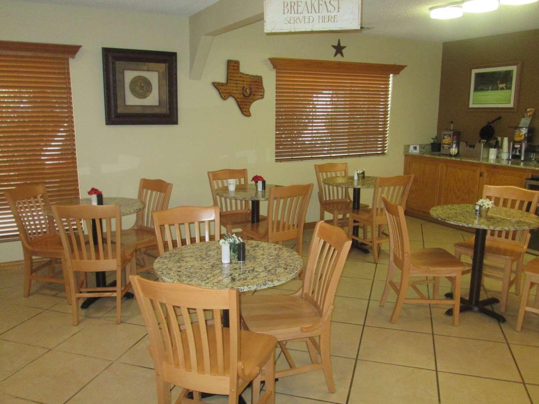 Restaurant - Best Western Motel Llano