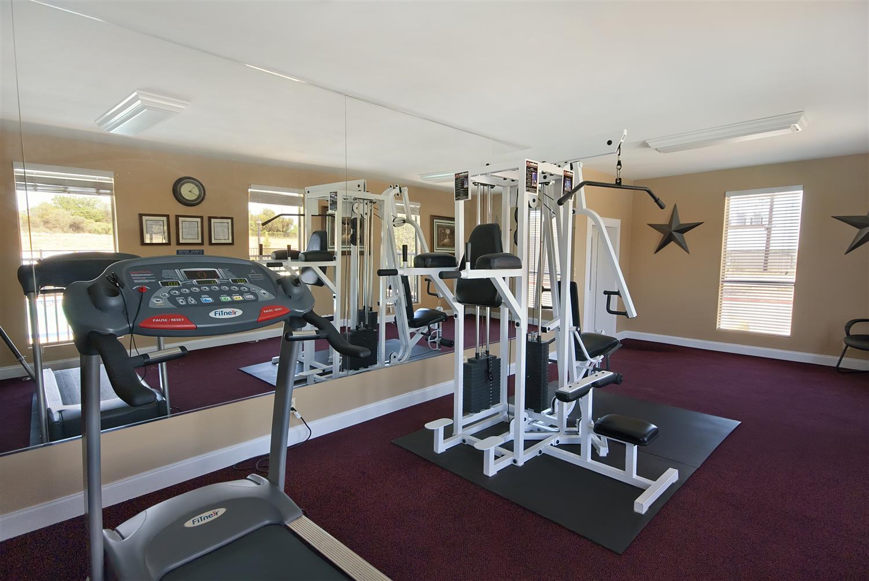 Fitness/ Exercise Room - Best Western Brady Inn