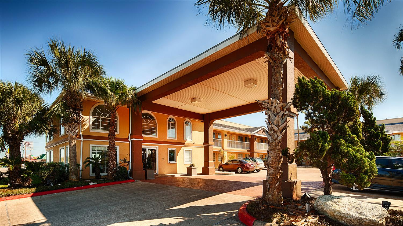 Exterior View Best Western Paradise Inn Corpus Christi