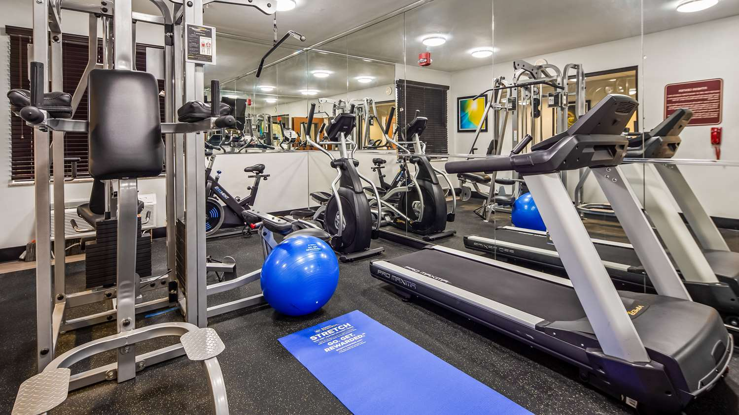 Fitness/ Exercise Room - Best Western Executive Inn Corsicana