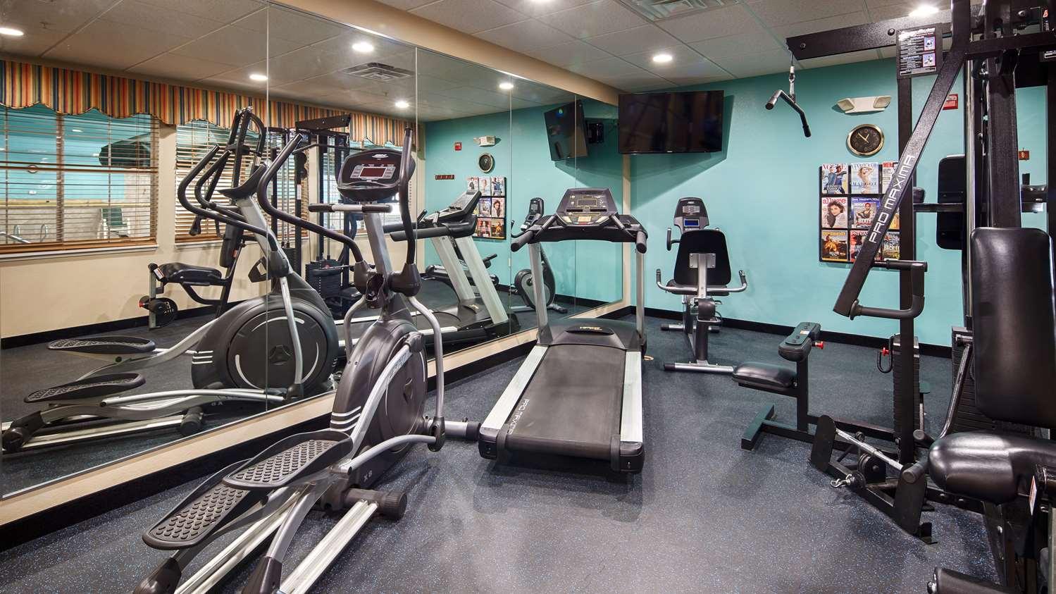 Fitness/ Exercise Room - Best Western Plus Monahans Inn & Suites