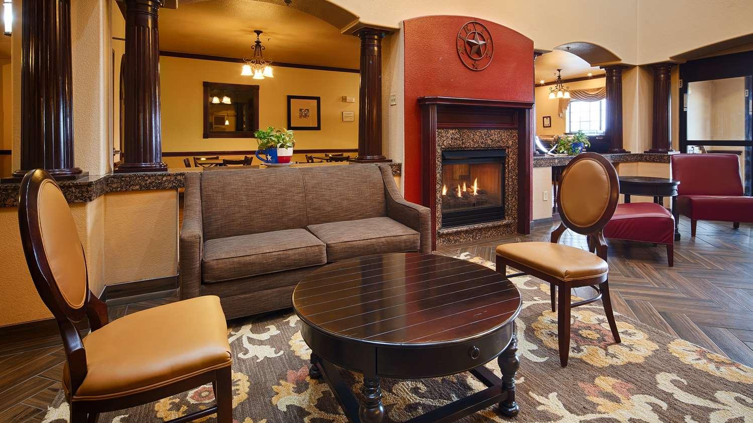 Lobby - Best Western Plus Sweetwater Inn & Suites