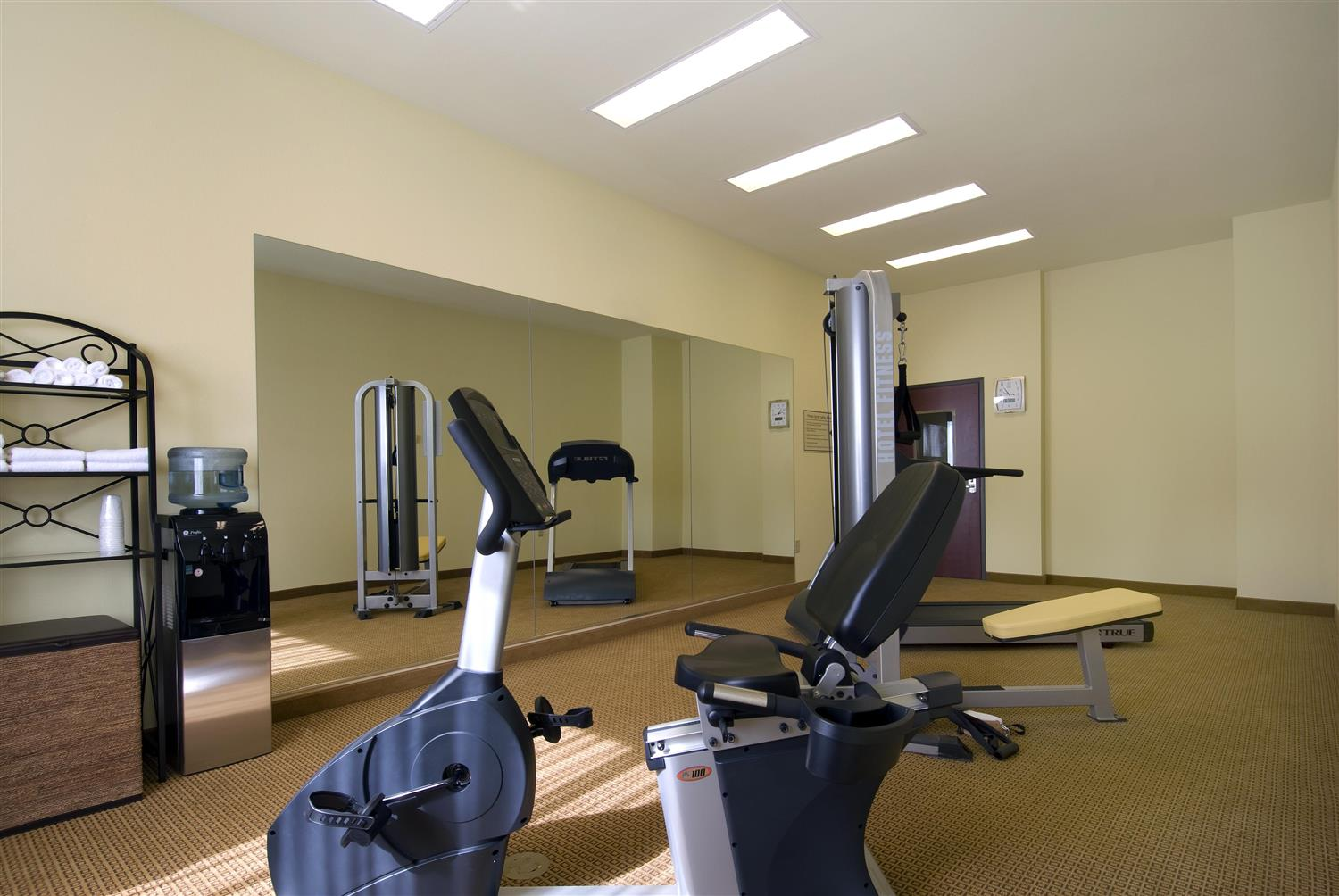 Fitness Exercise Room Best Western Littlefield Inn Suites