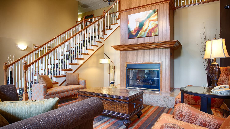 Lobby - Best Western Plus North Waco Inn Bellmead