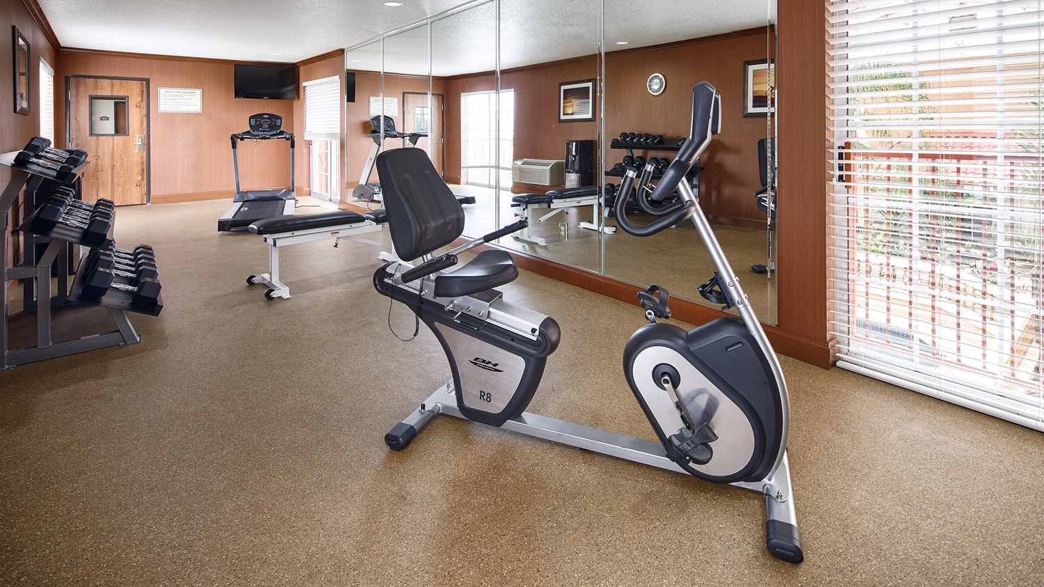Fitness/ Exercise Room - Best Western Plus Atrium Inn Schertz