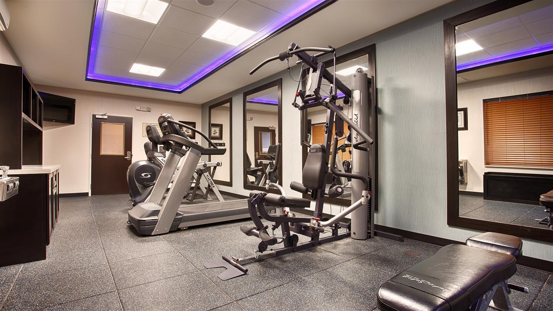 Fitness/ Exercise Room - Best Western Plus Odessa Inn & Suites