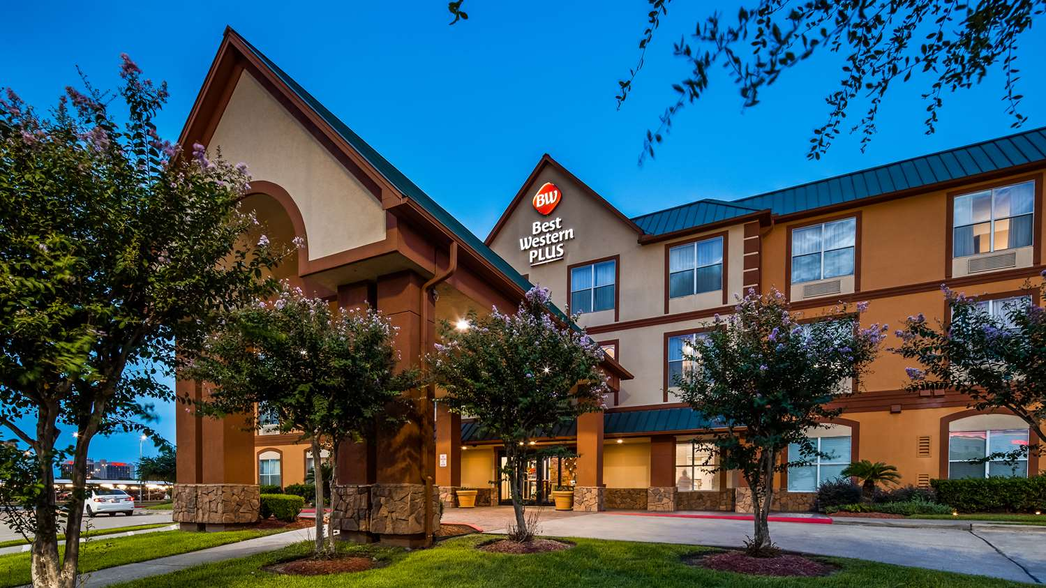 Exterior View Best Western Plus Hobby Airport Hotel Houston