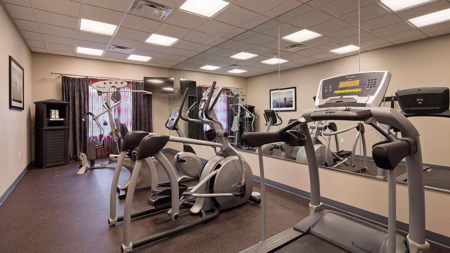 Fitness/ Exercise Room - Best Western Plus Laredo Inn & Suites