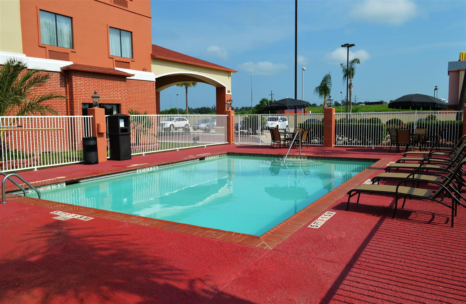 Pool - Best Western Orange Inn & Suites