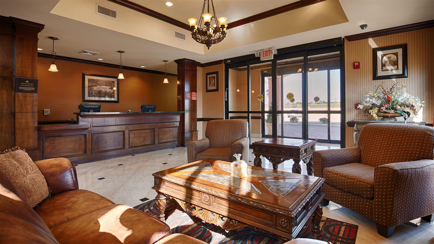 Lobby - Best Western Orange Inn & Suites