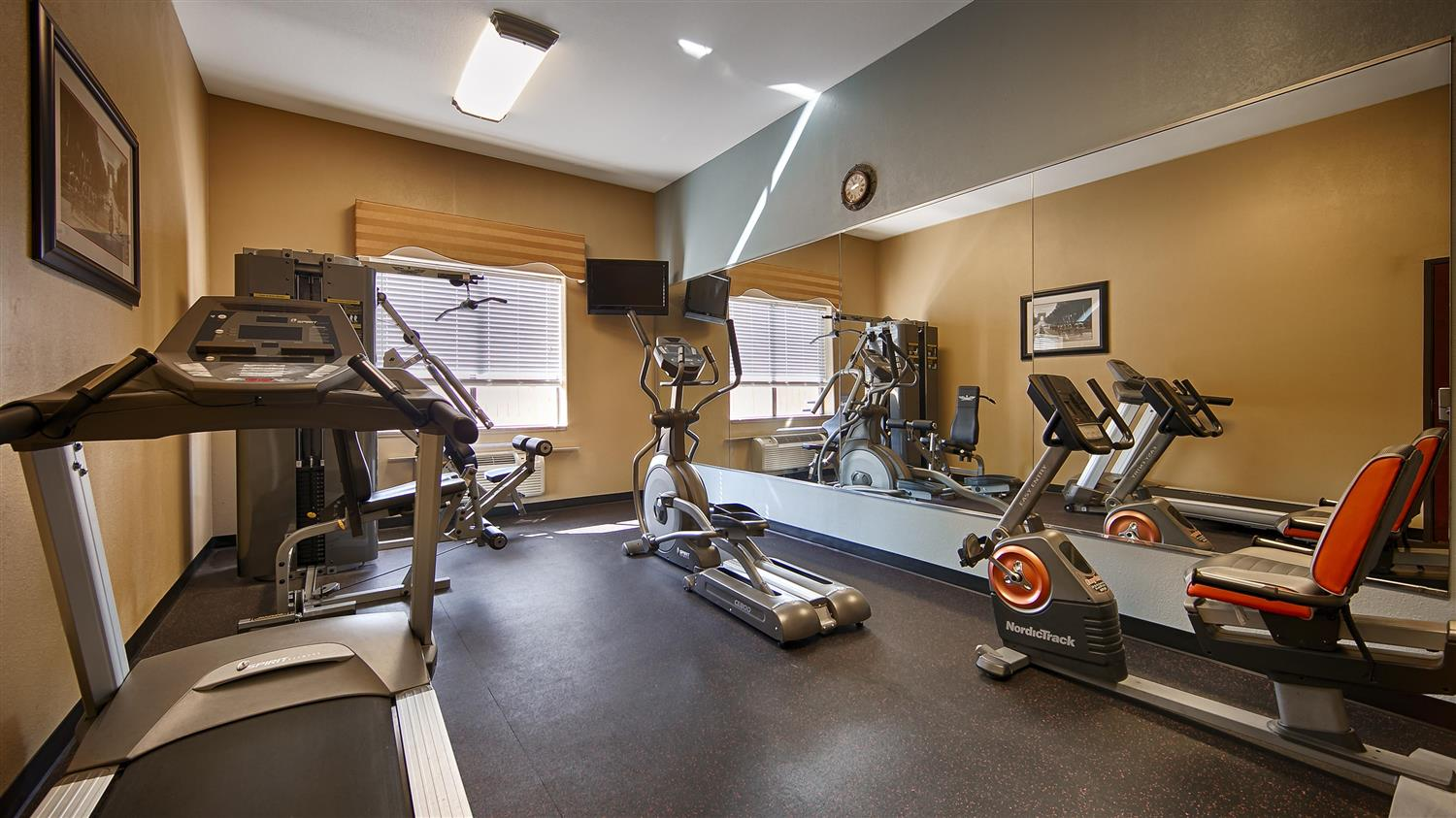 Fitness/ Exercise Room - Best Western Orange Inn & Suites