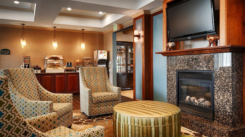 Lobby - Best Western Plus Woodway Waco South Inn & Suites