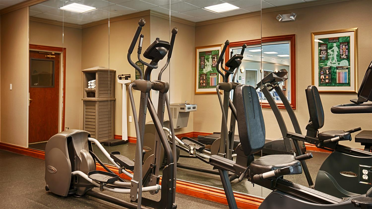 Fitness/ Exercise Room - Best Western Plus Woodway Waco South Inn & Suites