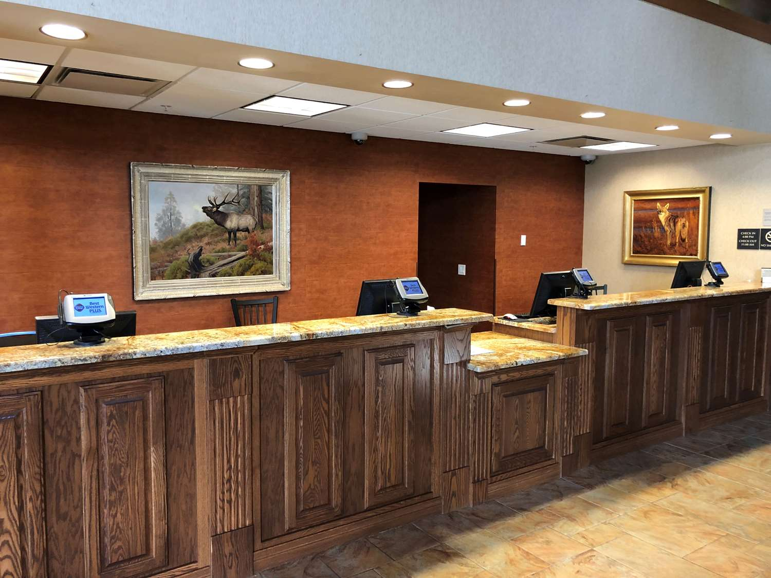 Lobby - Best Western Plus Bryce Canyon Grand Hotel