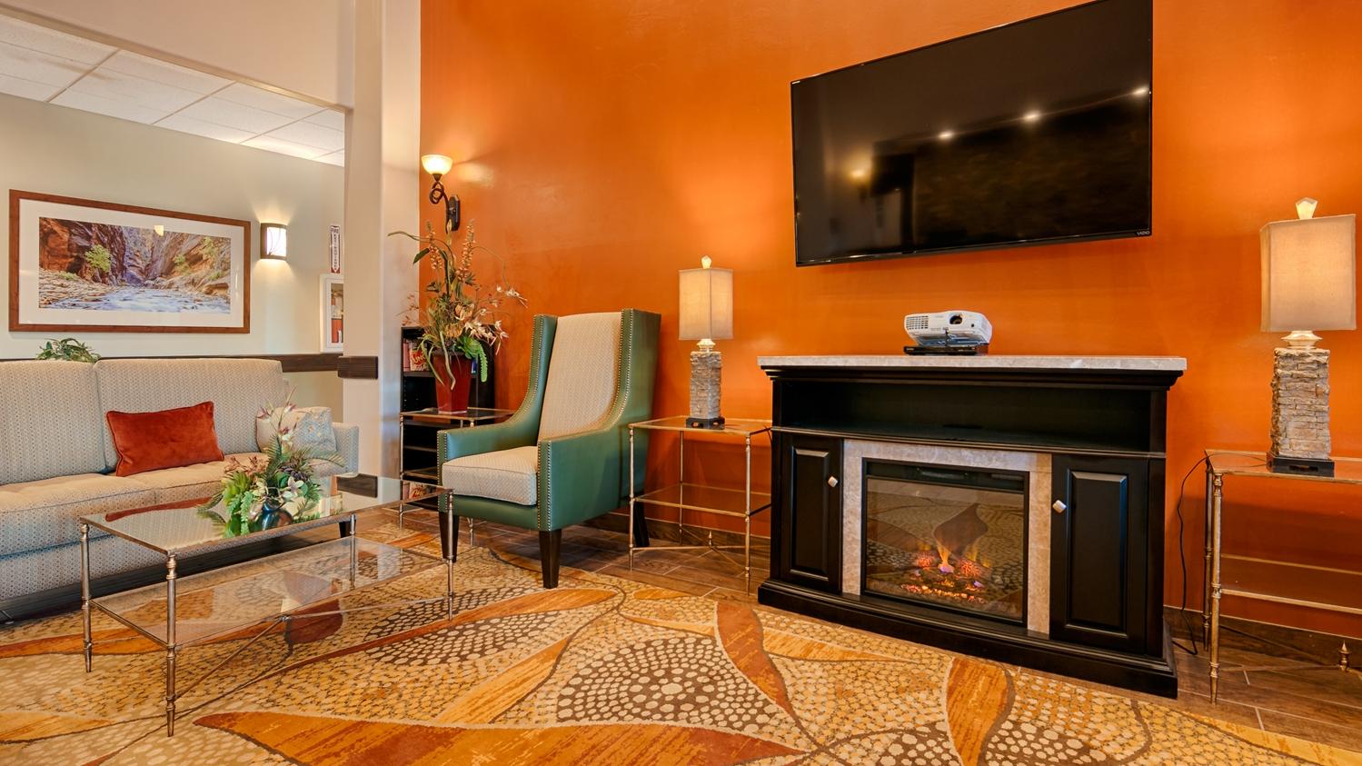 Lobby - Best Western Plus Zion West Hotel La Verkin
