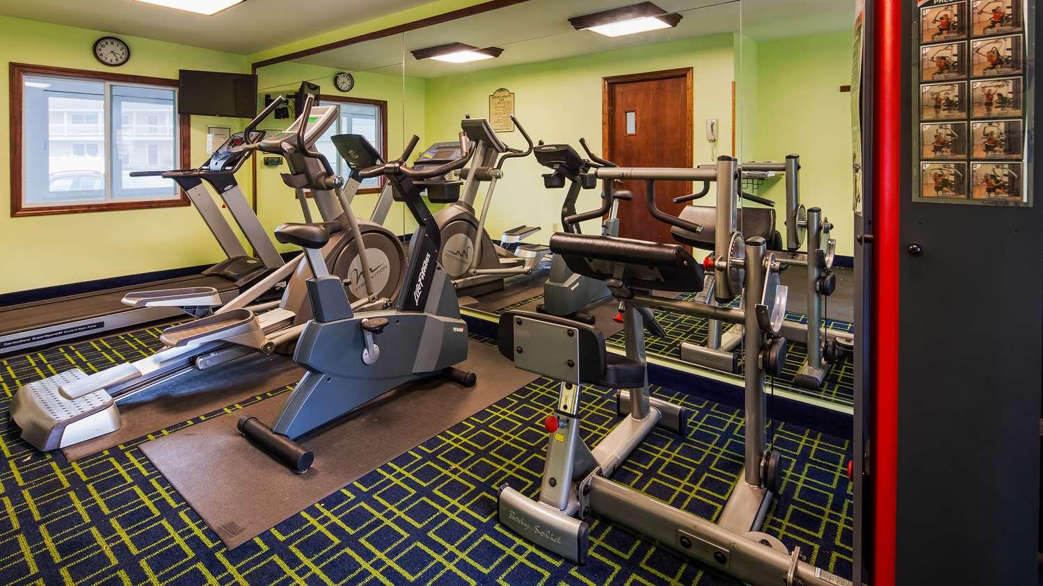 Fitness/ Exercise Room - Best Western Hotel Bennington