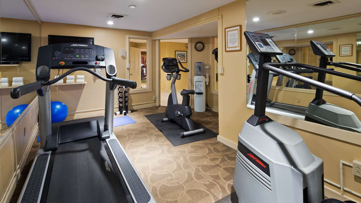 Fitness/ Exercise Room - Best Western Inn & Suites Rutland