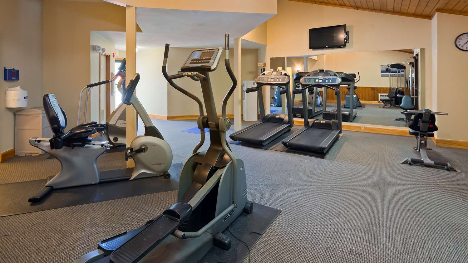 Fitness/ Exercise Room - Best Western Plus Windjammer Inn South Burlington