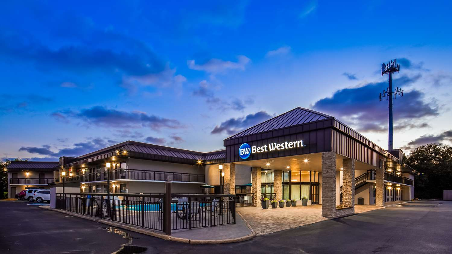 Exterior view - Best Western Center Inn Virginia Beach