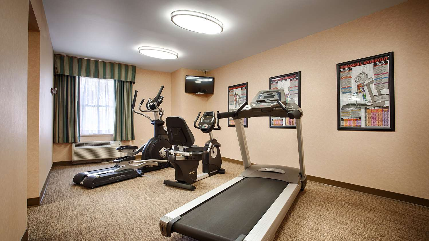 Fitness/ Exercise Room - Best Western Plus Valley View Inn Roanoke