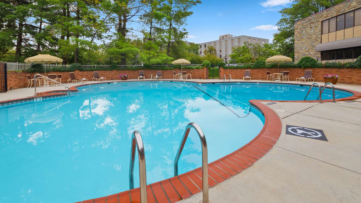 Pool - Best Western Fairfax Hotel