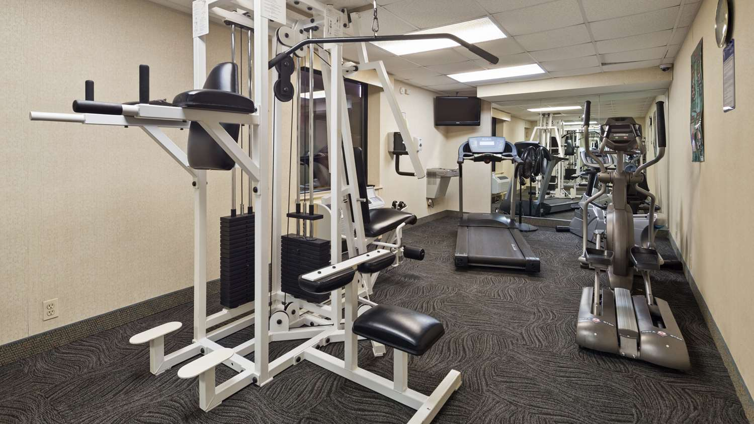Fitness/ Exercise Room - Best Western Fairfax Hotel