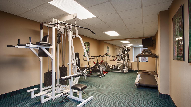 Fitness/ Exercise Room - Best Western Lexington Inn