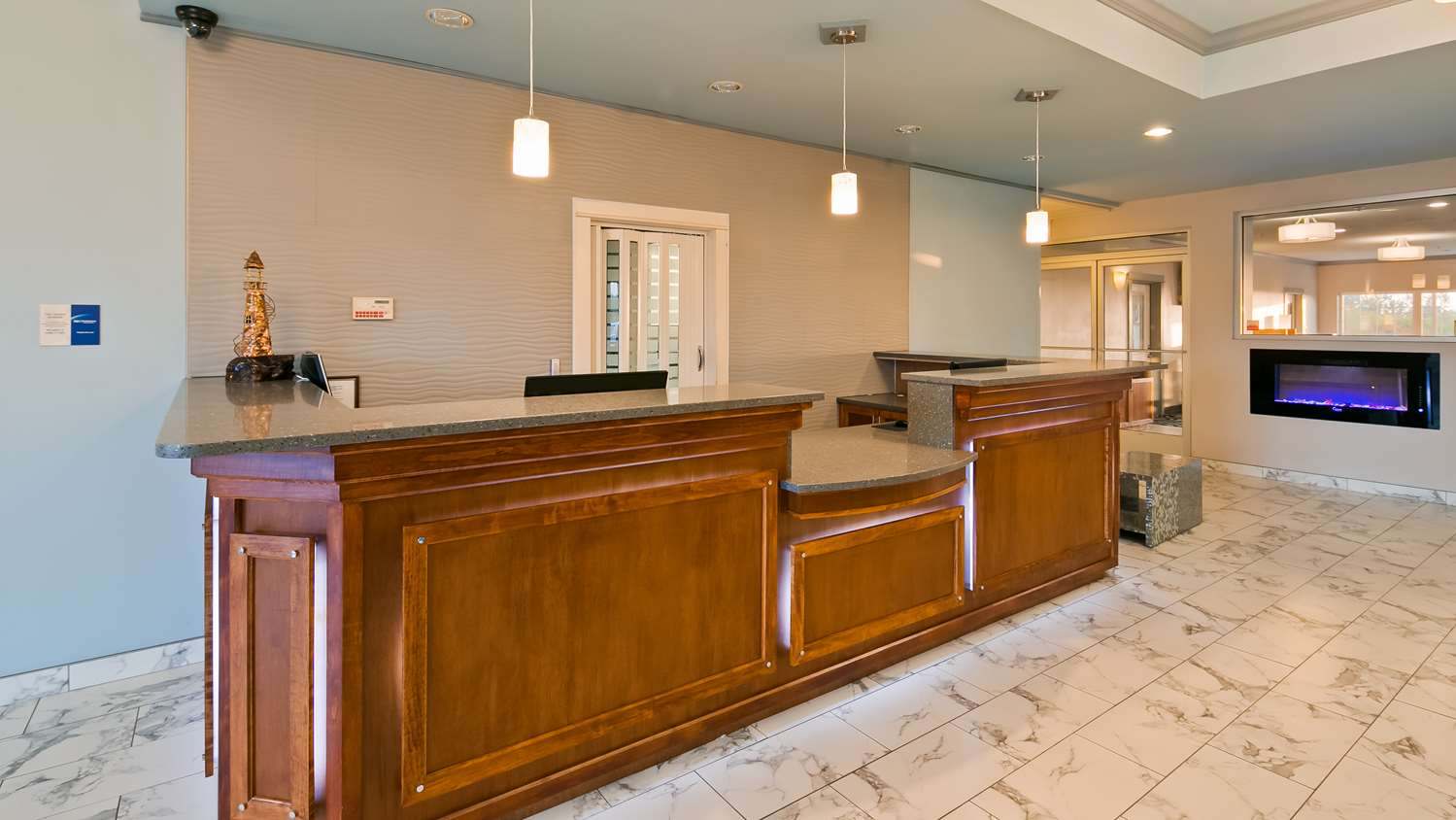 Lobby - Best Western Lighthouse Suites Ocean Shores