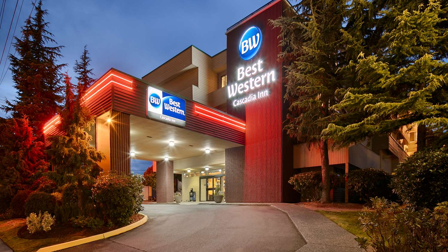 Exterior view - Best Western Cascadia Inn Everett