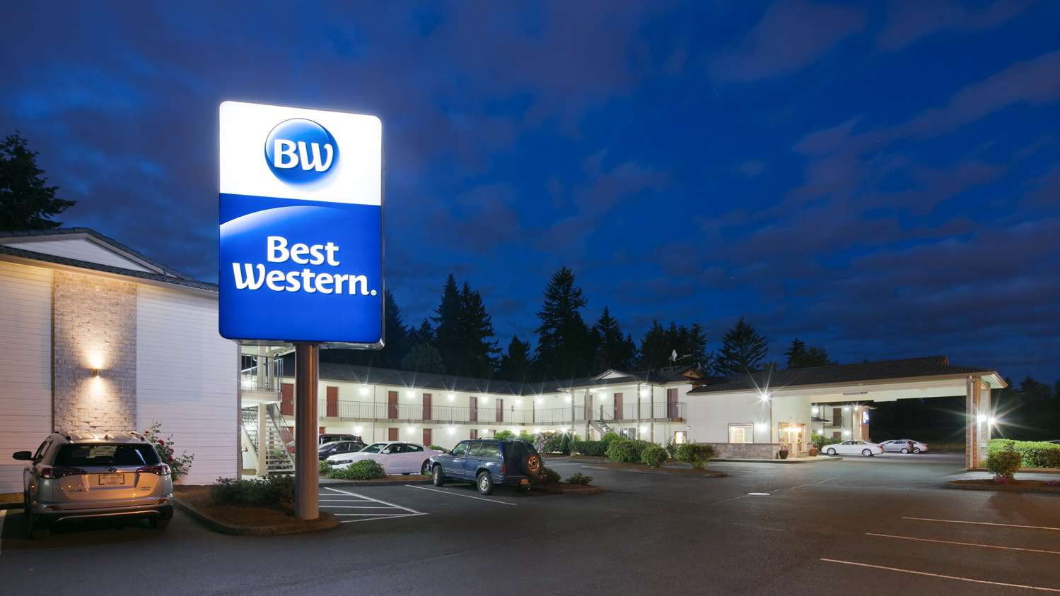 Exterior view - Best Western Inn of Vancouver