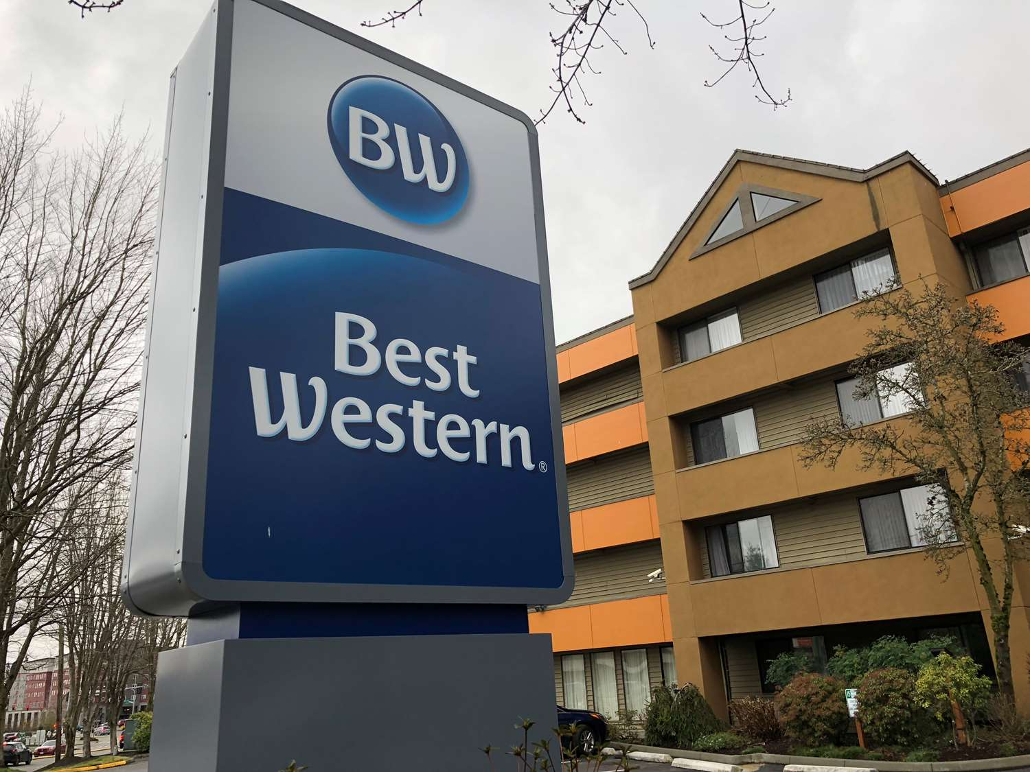 Exterior view - Best Western Alderwood Inn Lynnwood