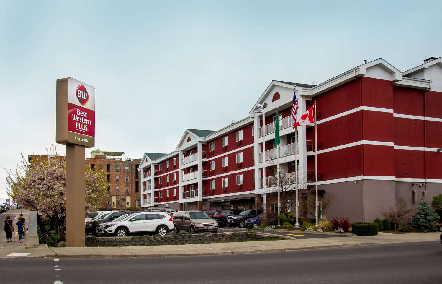 Exterior view - Best Western Plus City Center Spokane