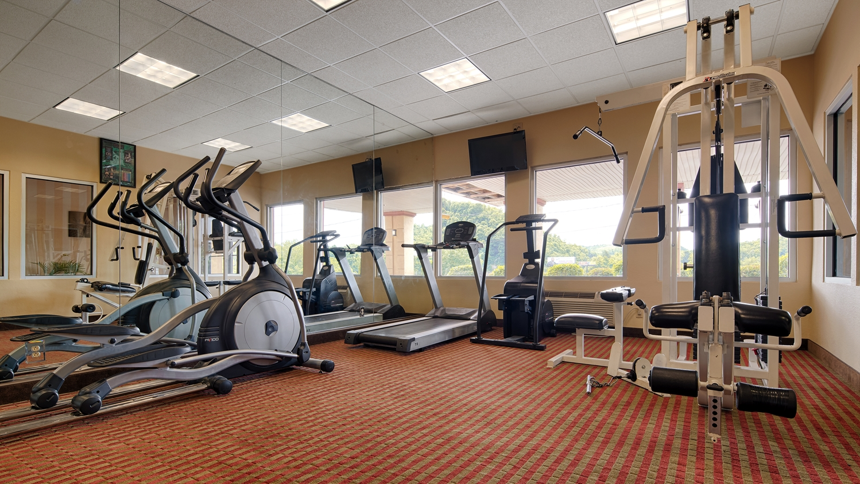 Fitness/ Exercise Room - Best Western Mountaineer Inn Morgantown