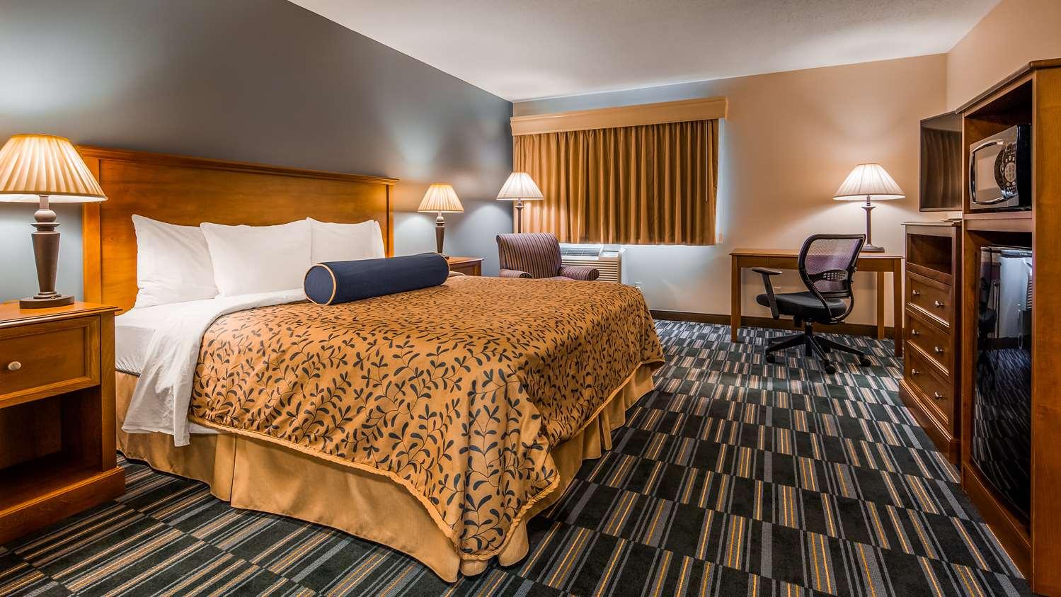 Room - Best Western Rice Lake Inn
