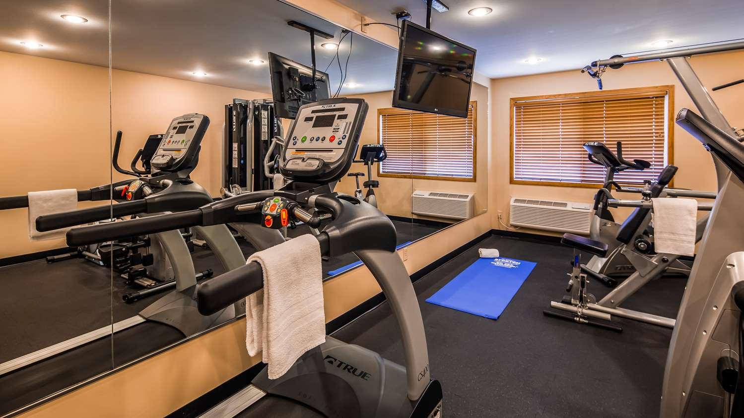 Fitness/ Exercise Room - Best Western Rice Lake Inn