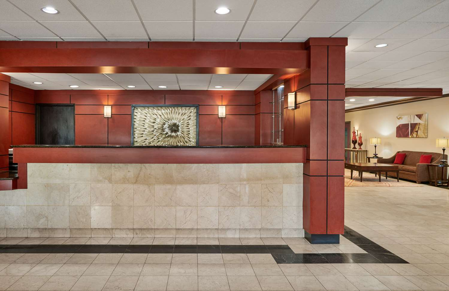 Lobby - Best Western Plus Milwaukee Airport Hotel