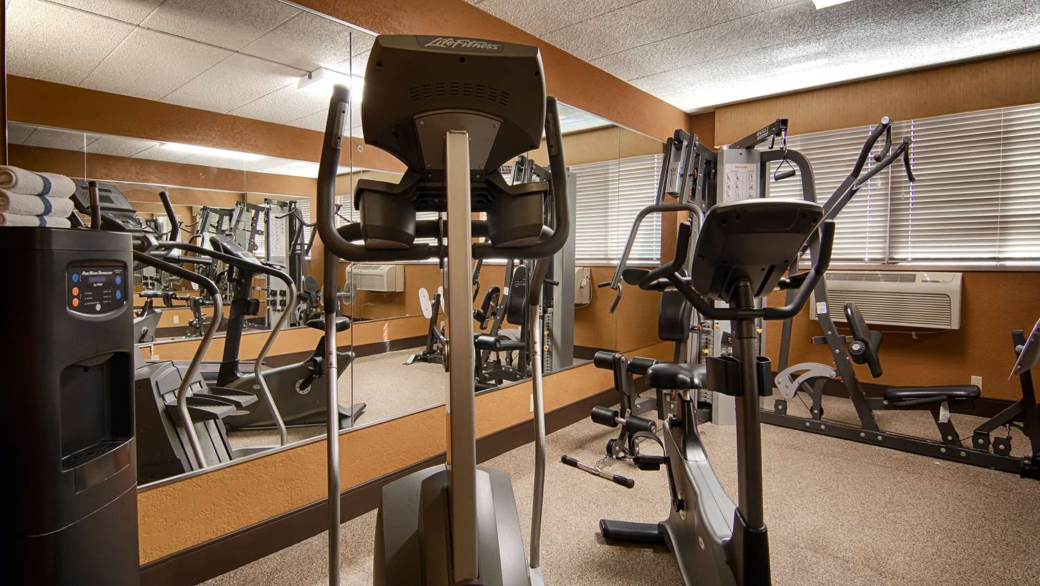 Fitness/ Exercise Room - Best Western Executive Inn Kenosha
