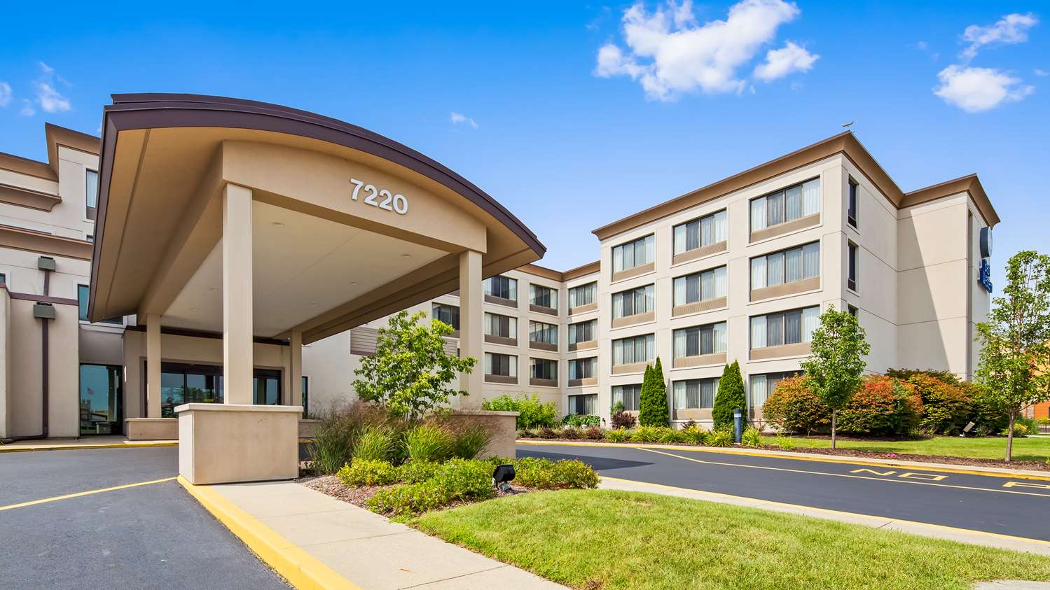 Exterior view - Best Western Executive Inn Kenosha