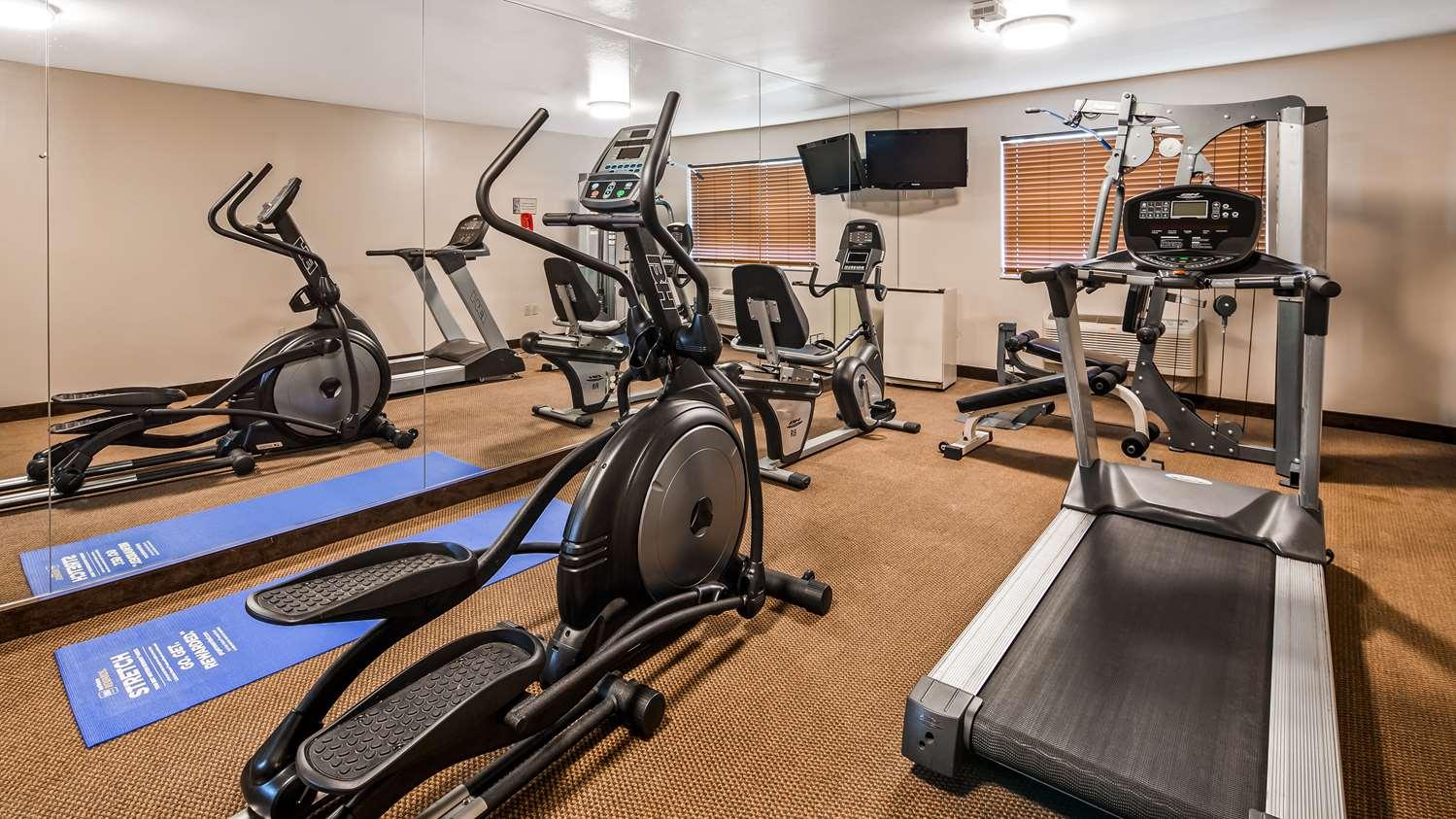 Fitness/ Exercise Room - Best Western Wittenberg Inn