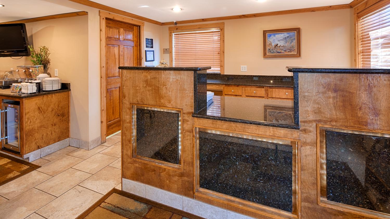 Lobby - Best Western Torchlite Motor Inn Wheatland