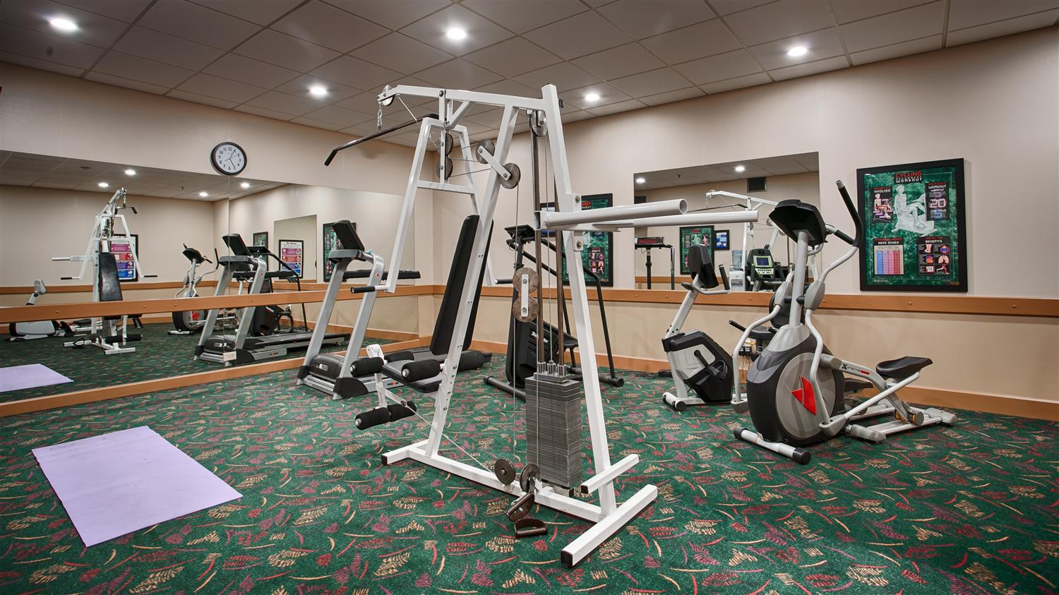 Fitness/ Exercise Room - Best Western Plus City Centre Inn Edmonton