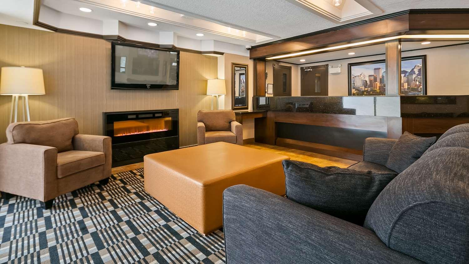 Lobby - Best Western Hotel Airport Calgary