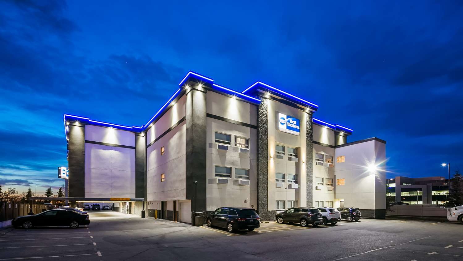 Exterior view - Best Western Hotel Airport Calgary