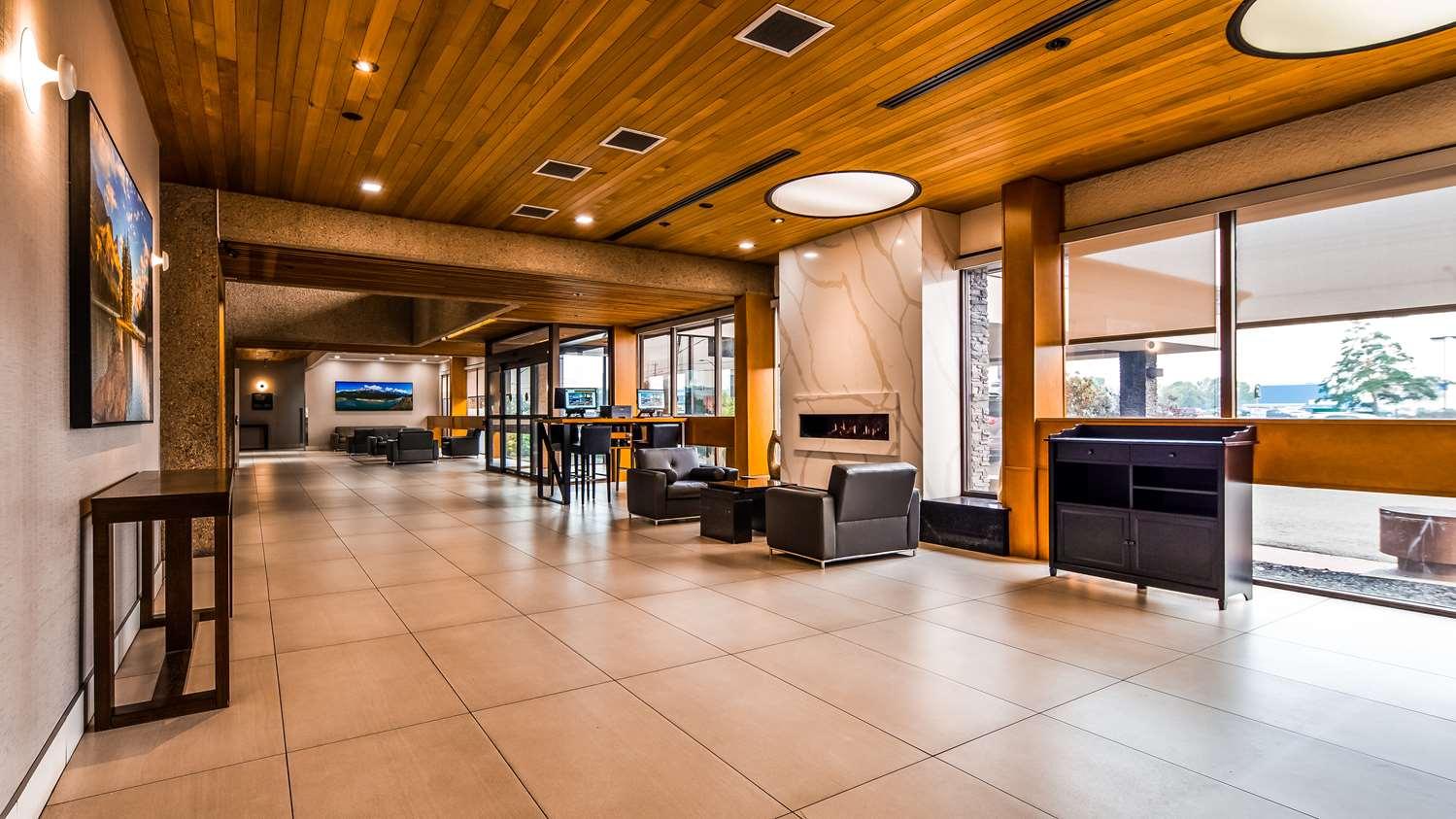 Lobby - Best Western Cedar Park Inn Edmonton