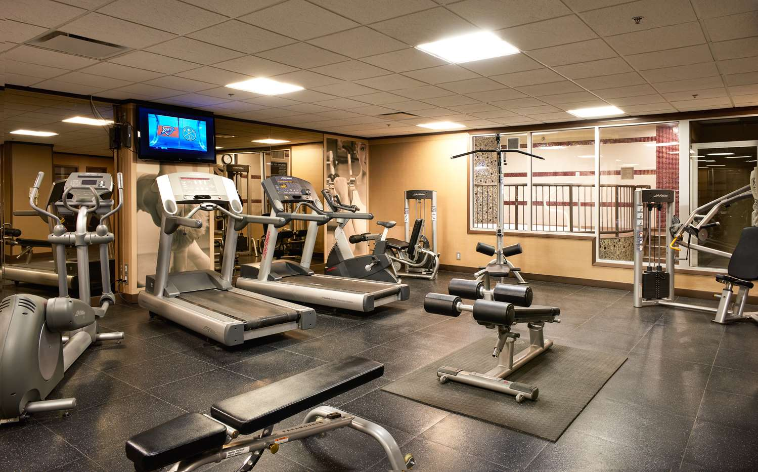 Fitness/ Exercise Room - Best Western Premier Denham Inn & Suites Leduc