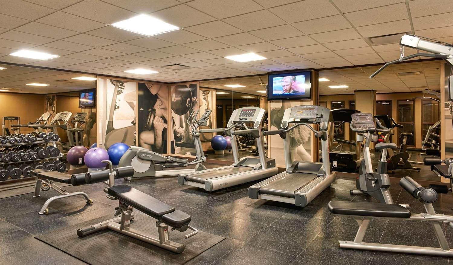 Fitness/ Exercise Room - Best Western Premier Denham Inn & Suites Leduc