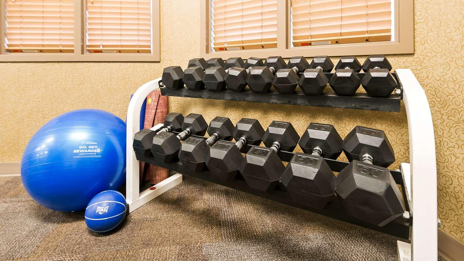 Fitness/ Exercise Room - Best Western Grande Prairie Hotel & Suites