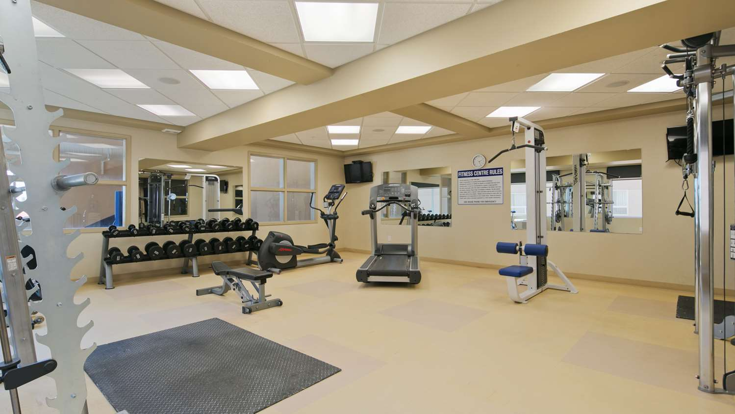 Fitness/ Exercise Room - Best Western Cold Lake Inn