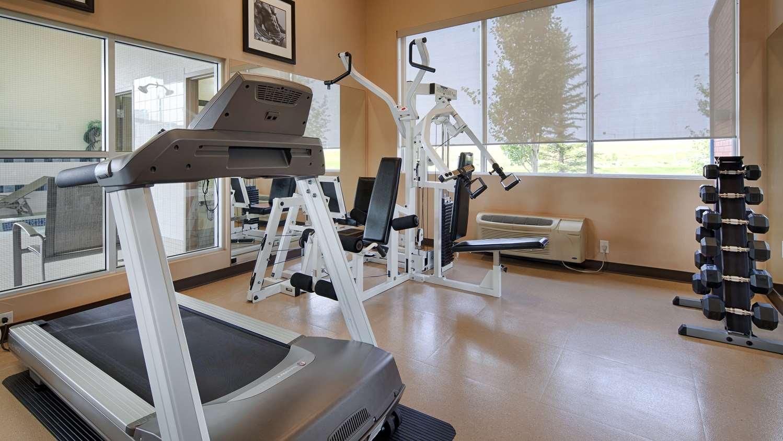 Fitness/ Exercise Room - Best Western Plus Red Deer Inn & Suites