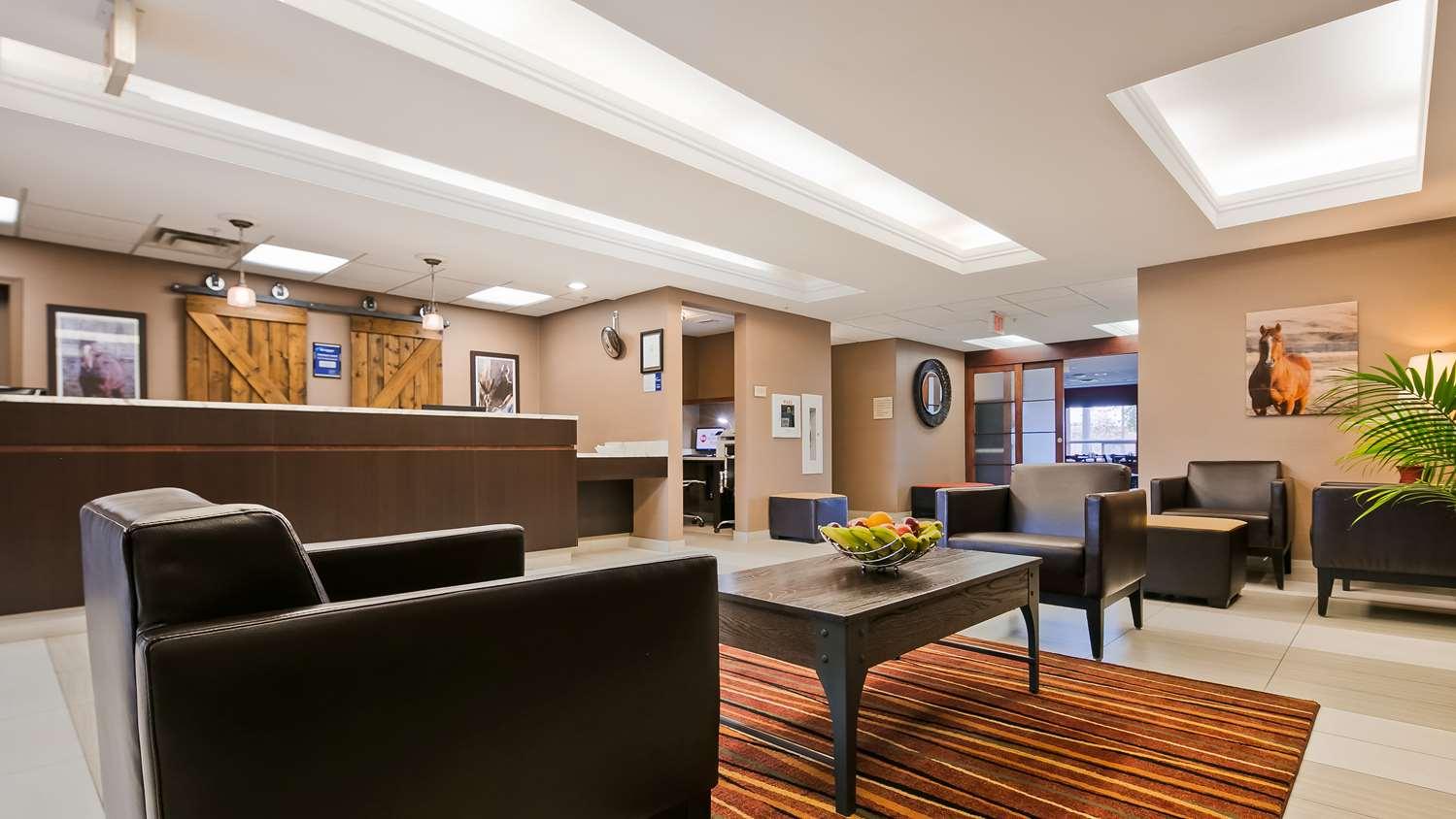 Lobby - Best Western Plus Red Deer Inn & Suites